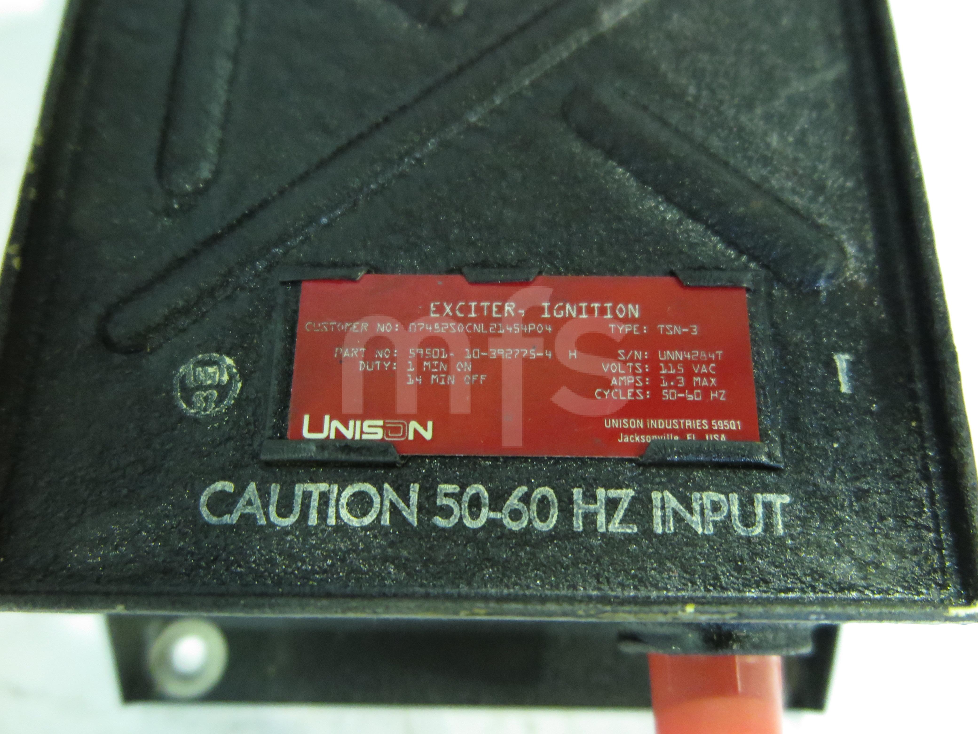 Ignition unit, TSN-3, Unison - MFSupport