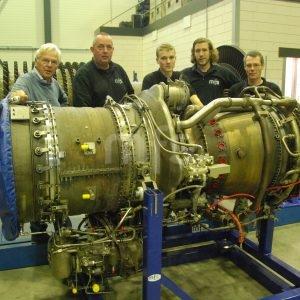 LM1600 gas turbine